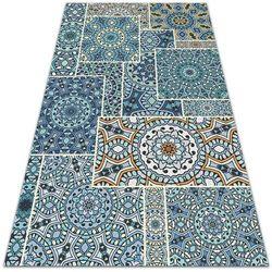 Dywan ogrodowy piękny wzór dywan ogrodowy piękny wzór mandala patchwork marki Dywanomat.pl
