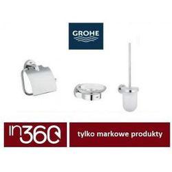 Grohe Essentials Zestaw akcesoriów łazienkowych (40367001 +40374001 +40369001 +40368001) IN.000A316