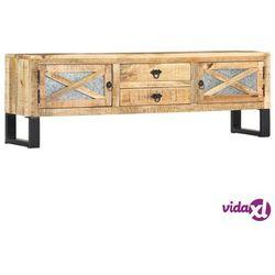 vidaXL Szafka pod TV, 140x30x45 cm, lite drewno mango