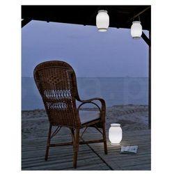 New garden lampa przenośna candela b biała - led, wbudowana bateria marki Sofa.pl