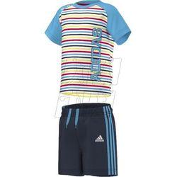 Adidas Komplet  boys summer set k s17158, kategoria: komplety odzieży dla dzieci