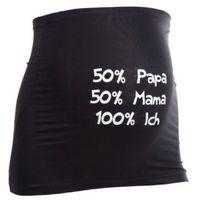 MAMABAND Pas podtrzymujący brzuch Papa Mama Ich kolor czarny