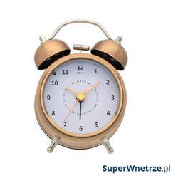 Zegar stojący 12,2 cm NeXtime Wake Up miedziany, kolor Zegar