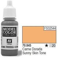 farba nr20 sunny skin tone 17ml wyprodukowany przez Vallejo