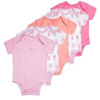 mothercare BRIGHT BUNNY 5 PACK Body coral (5021468539234)