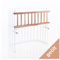 Tobi babybay  barierka do łóżeczka dostawnego original/midi - buk naoliwiony