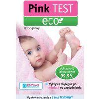 Pink eko test ciążowy 1 sztuka wyprodukowany przez Hydrex
