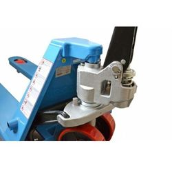 WÓZEK PALETOWY PALECIAK WIDŁOWY MAGAZYNOWY AC25 (HPT-A) ŚREDNI 2500kG - 1000mm z HAMULCEM (wózek widłowy,