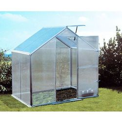 Szklarnia ogrodowa aluminiowa Gutta Gartentec F2 do samodzielnego montażu