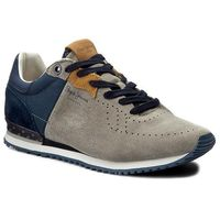 Sneakersy PEPE JEANS - Tinker Britt PMS30346 Lt Grey 915, 40-46