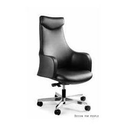 Fotel blossom czarny ekoskóra - zadzwoń i złap rabat do -10%! telefon: 601-892-200 marki Unique meble