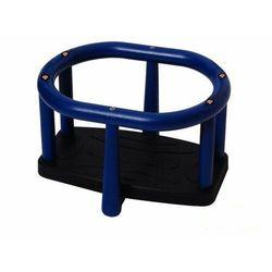 Huśtawka kubełkowa LUX - niebiesko-czarny z kategorii huśtawki ogrodowe