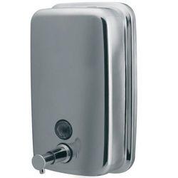 Dozownik do mydła w płynie 1000ml metal chrom 01416 marki Bisk