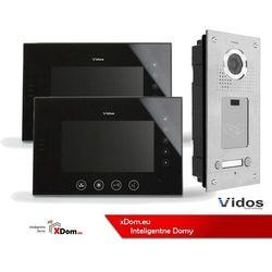 Zestaw dwurodzinny wideodomofonu z czytnikiem kart rfid s562a_m670bs2 marki Vidos
