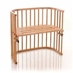 Tobi babybay  original oddychające łóżeczko dostawne z naoliwionego drewna bukowego