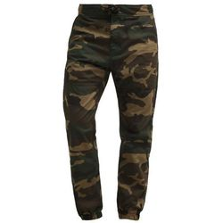 Carhartt WIP MARSHALL COLUMBIA Spodnie materiałowe dark green