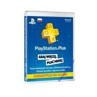 Playstation Plus Card 365 dni PSN PS3/PS4/PSV