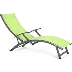 Leżak ogrodowy HOME&GARDEN Summer Limonkowy - sprawdź w wybranym sklepie