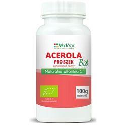 Acerola sproszkowany sok BIO 100 g (Myvita) (Witaminy i minerały)