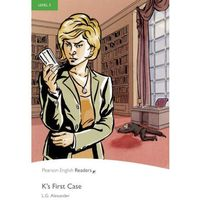 K's First Case + MP3. Pengiun Readers, Pearson
