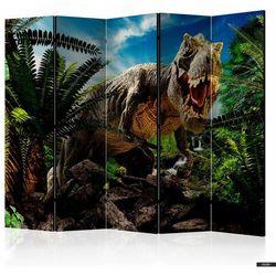 SELSEY Parawan 5-częściowy - Wściekły tyranozaur (5903025214696)