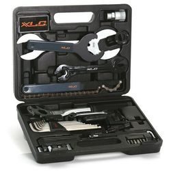 Xlc skrzynka na narzędzia to-s61 narzędzie rowerowe 33-częściowy szary/czarny zestawy narzędzi (403219165