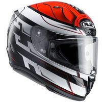KASK HJC R-PHA-11 SKYRYM BLACK/RED/WHITE