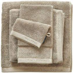 Elegancka myjka bawełniana, rękawica do mycia w odcieniu czerni, Marc O'Polo, ręcznik do mycia, 16 x 22 cm (8715944250979)