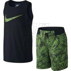 Komplet  allover print junior 728832-010 wyprodukowany przez Nike sportswear