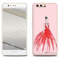 Fantastic Case - Huawei P10 Plus - etui na telefon Fantastic Case - czerwona suknia