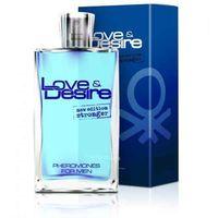 Sexual health series Love&desire 100 ml - perfumy z feromonami dla mężczyzn