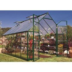 Szklarnia z poliwęglanu Balance Green 2,44 x 3,67 m Palram (7290108131635)