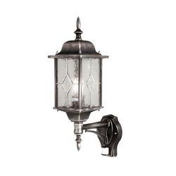 Zewnętrzna LAMPA ścienna NORFOLK NR7/2 Elstead klasyczny KINKIET elewacyjna OPRAWA ogrodowa IP43 outdoor czarna