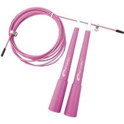 Skakanka  crossfit rużowy wyprodukowany przez Spokey