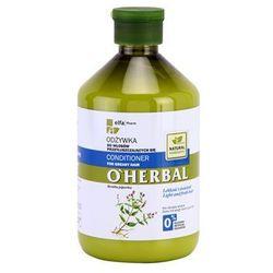 O'herbal mentha piperita odżywka do włosów przetłuszczających wyprodukowany przez O'herbal