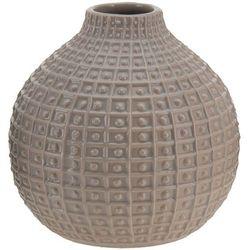 Ceramiczny wazon na kwiaty, dekoracje - okrągły, Ø 18 cm (8719202117387)