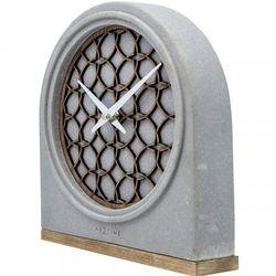 Nextime Zegar stojący 5205 br concrete love table 21.5x24.5 cm