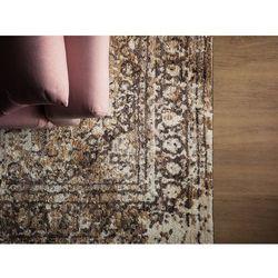 Beliani Dywan beżowy 140 x 200 cm krótkowłosy patras (7105275912447)
