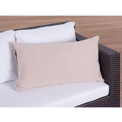 Poduszka ogrodowa - dekoracyjna - poduszka 50x70 cm karmelowa - produkt z kategorii- Pozostałe meble ogrodowe