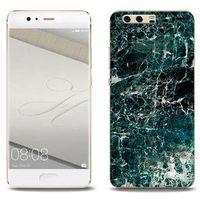 Etuo.pl Fantastic case - huawei p10 plus - etui na telefon fantastic case - zielony marmur