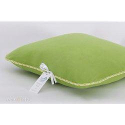 poduszka polarowa 40x40 zielona marki Mamo-tato
