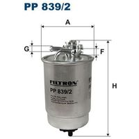 Filtr paliwa PP 839/2