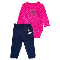 Carter's DOT LITTLE SISTER SET Body pink (0190795510584)