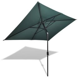 parasol prostokątny (200 x 300 cm) zielony wyprodukowany przez Vidaxl