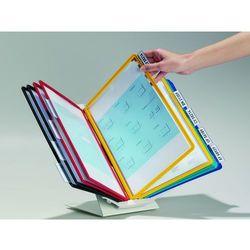 VARIO® PRO 10, uchwyt i 10 paneli A4, pion/poziom, ściana/stół., Durable, 557900_d