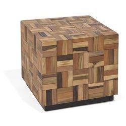 Beliani Stolik kawowy drewno tekowe gameti (4260602371342)