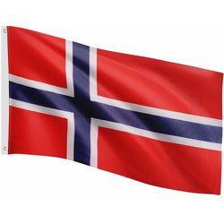 Flagmaster ® Flaga norwegii norweska 120x80 cm na maszt norwegia - norwegii (4048821749186)