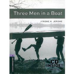 Three Men In a Boat + CD. The Oxford Bookworms Library Stage 4 (1400 Headwords), pozycja z kategorii Nauka