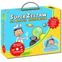 Kapitan Nauka Super Zestaw dla małego naukowca Praca zbiorowa (9788377881835)