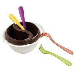 Mastrad  - zestaw do czekoladowego fondue z mikrofali, kategoria: fondue